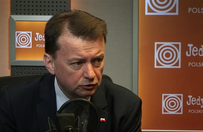 Interior Minister Mariusz Błaszczak. Photo: Polish Radio