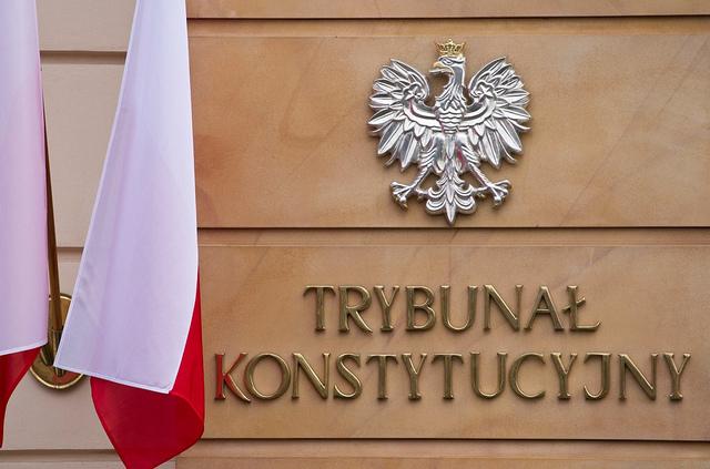Poland's Constitutional Tribunal. Photo: Maciej Śmiarowski/KPRM.