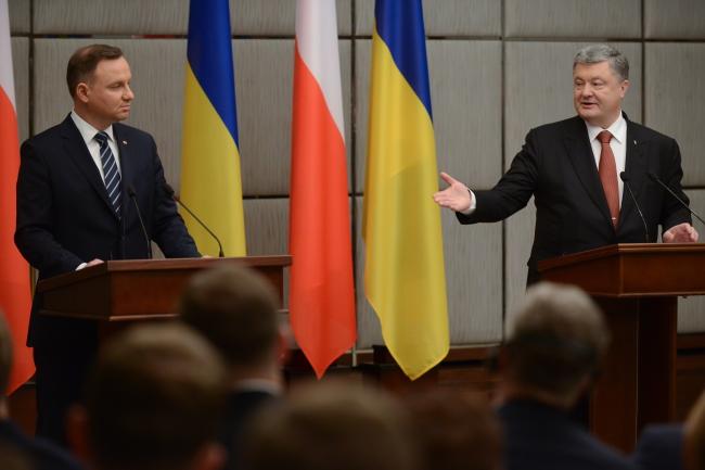 Анджей Дуда і Петро Порошенко. Харків, 13 грудня 2017