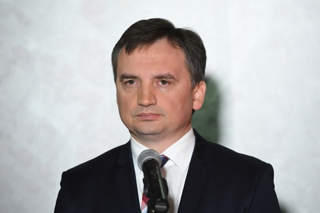 Justice Minister and Prosecutor-General Zbigniew Ziobro. Photo: PAP/Radek Pietruszka