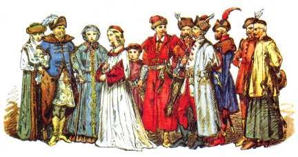 Viele zeitgenössische Gemälde zeigen den Adel in Szene gesetzt wie in den Geschichten von Tausendundeiner Nacht.