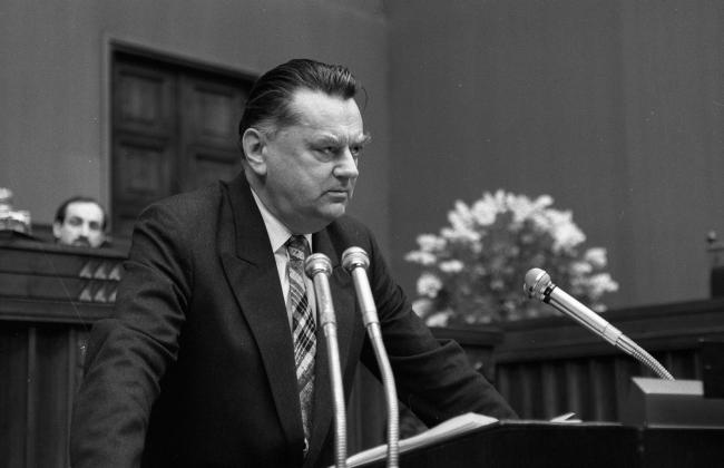 Польский политик и адвокат Ян Ольшевский