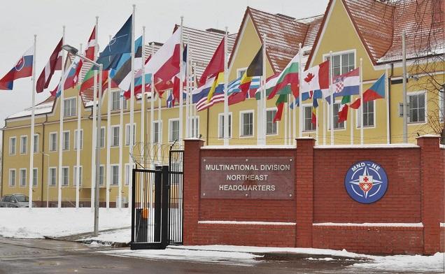 Новая штаб-квартира многонациональной дивизии Северо-Восток в Эльблонге