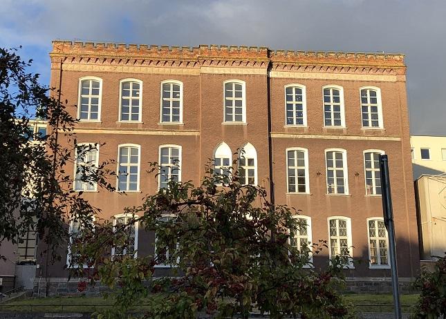 Ehemalige Mädchenschule Charlottenschule, später Musik-Fakultät der Ermländisch-Masurischen Universität UWM, fot. (c) Arkadiusz Łuba