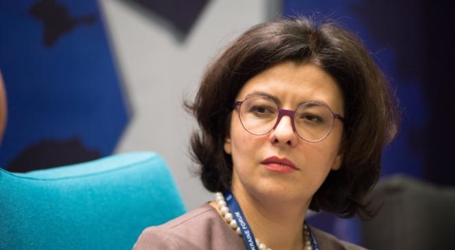 Віце-спікер Верховної Ради України Оксана Сироїд під час Економічного формуму