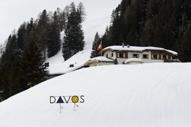 Davos, Switzerland. Photo: EPA/GIAN EHRENZELLER