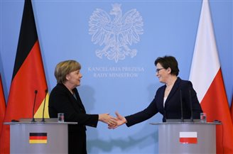 Poland and Germany discuss Russia sanctions