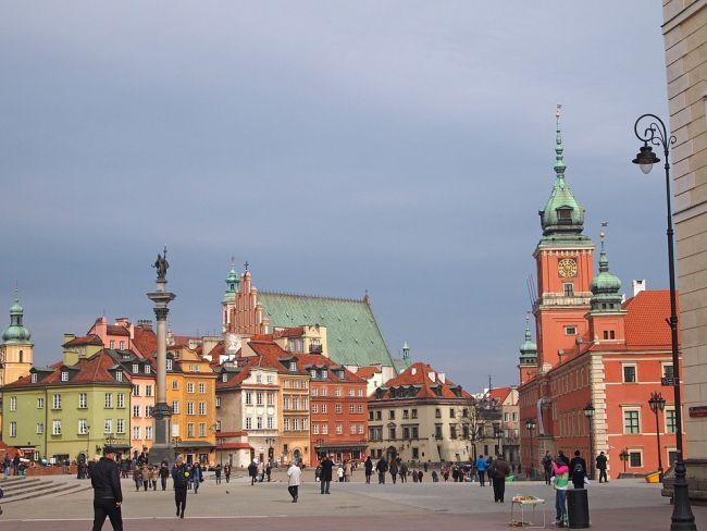 Район Старого города в Варшаве.