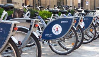 У Польщі стартував новий сезон оренди громадських велосипедів