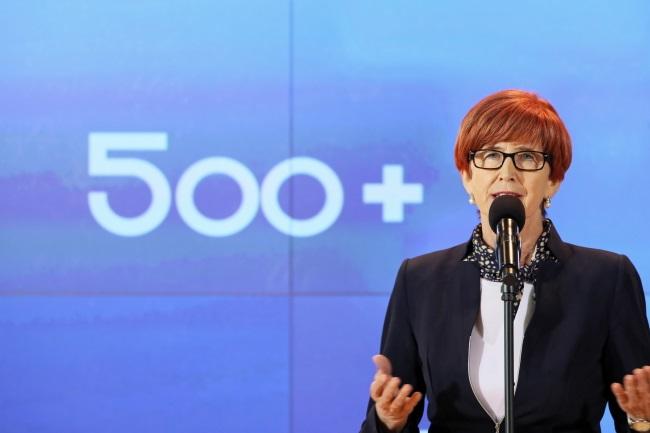 Poland's Family, Labour and Social Policy Minister Elżbieta Rafalska. Photo: PAP/Leszek Szymański