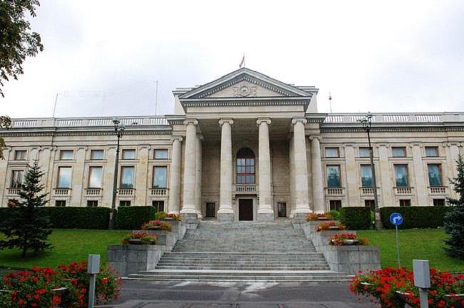 Пасольства Расейскай Фэдэрацыі ў Варшаве, галоўны будынак
