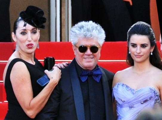 Rossy de Palma, Pedro Almodóvar and Penélope Cruz at Cannes Film Festival 2009. Photo: Wikimedia Commons/ Georges Biard