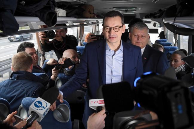 PM Mateusz Morawiecki. Photo: PAP/Radek Pietruszka