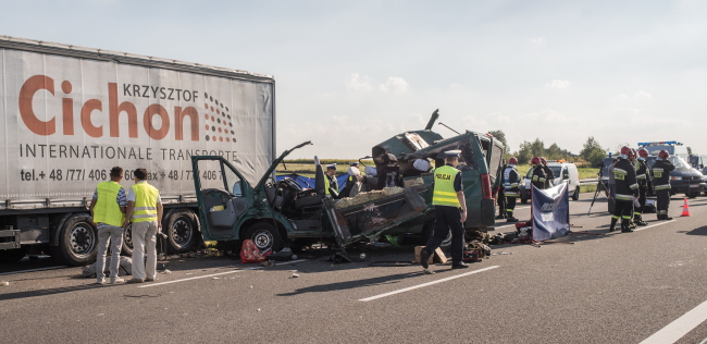 Автокатастрофа під Люблином. 23 серпня 2016 р.