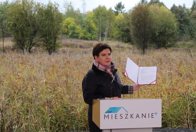 PM Szydło launched the programme on Wednesday. Photo: PAP/Andrzej Grygiel