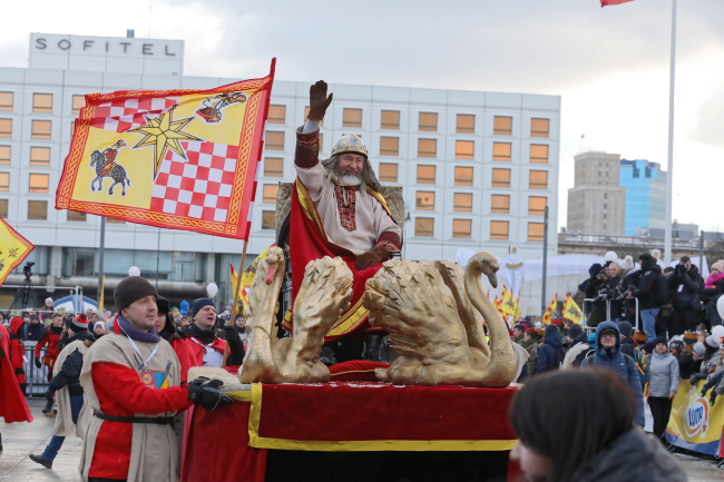 The Three Kings Parade in Warsaw. Photo: PAP/Tomasz Gzell
