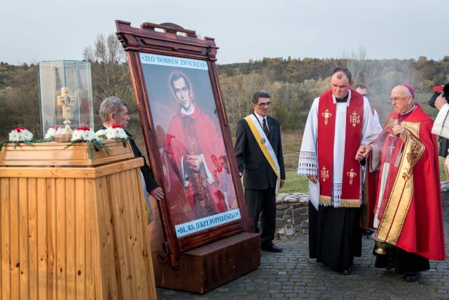 Памятные мероприятия, посвященные 33-й годовщине смерти Ежи Попелушко.