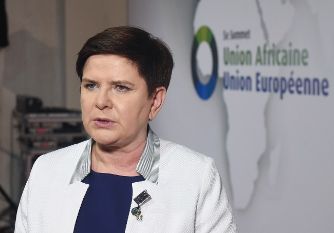 PM Beata Szydło in Abidjan. Photo: PAP/Radek Pietruszka