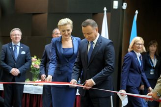 Polish president celebrates Estonian centenary of independence