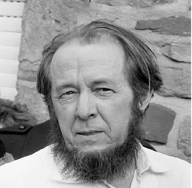 Аляксандар Салжаніцын, 1974 г.