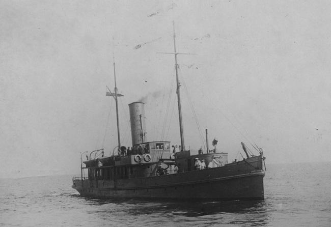Першым ваенным суднам стаў карабель Pomorzanin, 1920-1930-я гады