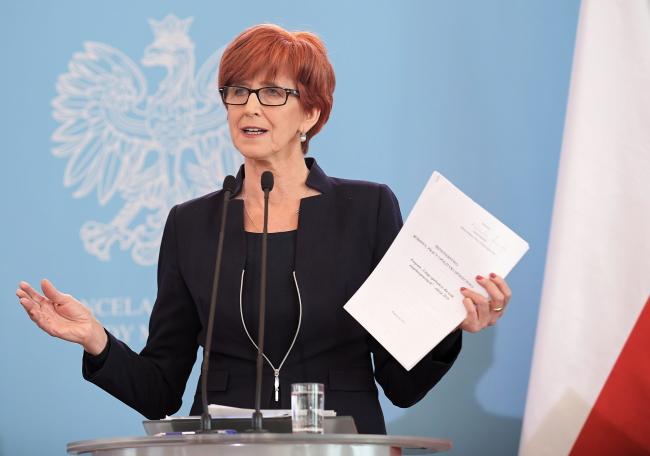 Министр Эльжбета Рафальская