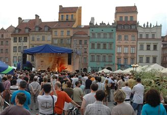 Open air jazz festival starts in Warsaw
