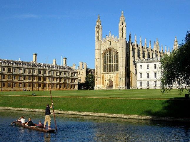 Uniwersytet w Cambridge. Zdjęcie ilustracyjne