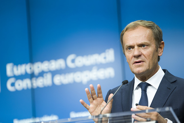 European Council President Donald Tusk. Photo: European Council