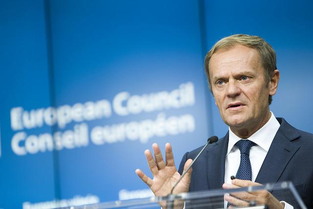 European Council President Donald Tusk. Photo: European Council