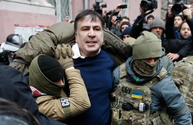Міхеіл Саакашвілі, Київ, 5 грудня 2017 року