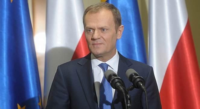 Premier Doland Tusk: photo - KPRM