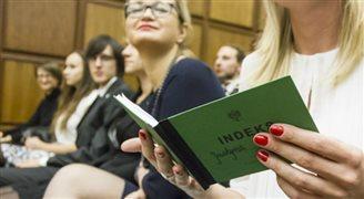Ukraińcy chcą studiować nad Wisłą, ale nie chcą zostać