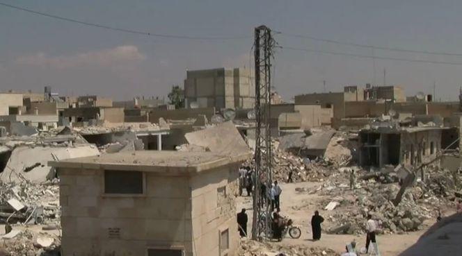Сирія після бомбардування