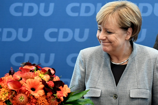 Angela Merkel. Photo: EPA/CHRISTIAN BRUNA.