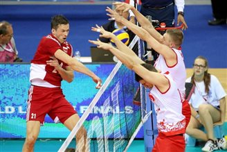Volleyball: Poland lose to Serbia