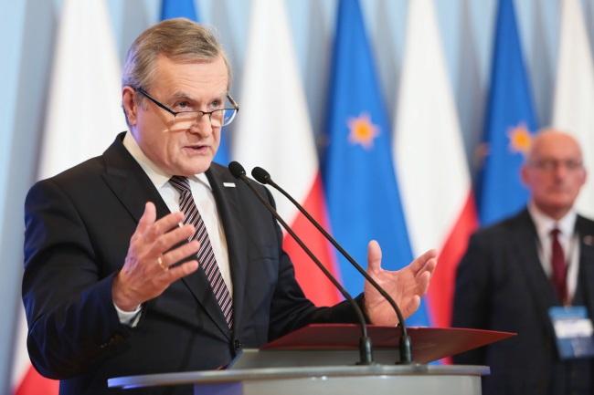 Poland's Deputy Prime Minister Piotr Gliński. Photo: PAP/Leszek Szymański
