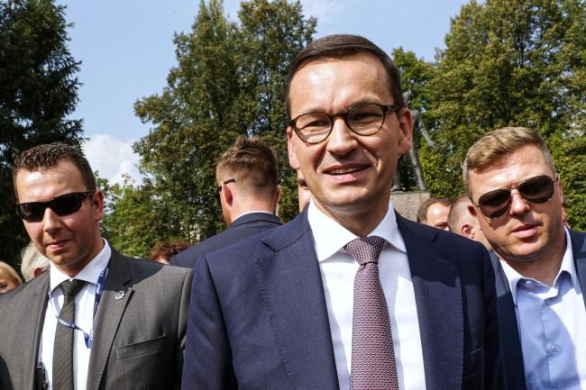 PM Mateusz Morawiecki. Photo: PAP/Dominik Gajda
