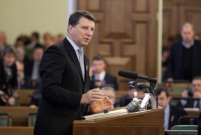 Latvian President Raimonds Vējonis. Photo: Wikimedia Commons/Ernests Dinka/ Saeimas Kanceleja.