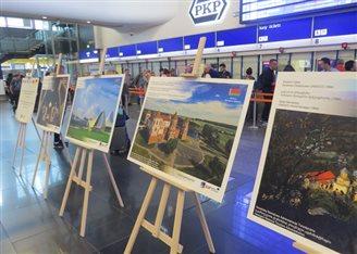 Спадчына Беларусі экспануецца на варшаўскім вакзале