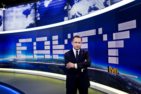 Kamil Durczok was Editor-in-Chief of TVN's Fakty show.