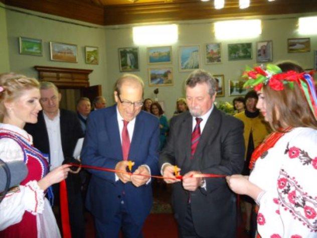 Uroczystość otwarcia Polskiej Biblioteki Medycznej w Kijowie