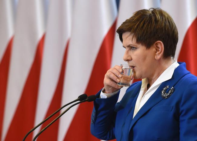 Beata Szydło. Photo: PAP/Radek Pietruszka
