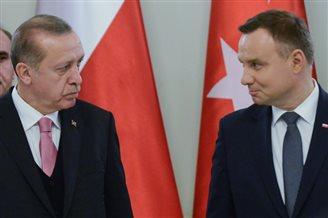 Turkish president Recep Tayyip Erdogan visits Poland