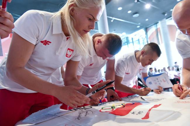 Польские спортсмены, участники II Европейских игр