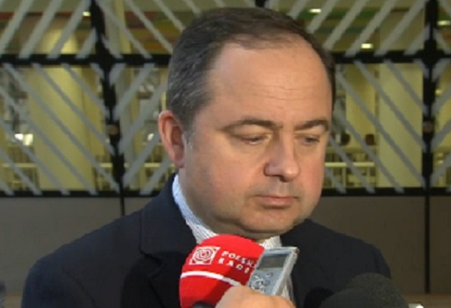Konrad Szymański, Poland's deputy foreign minister for European affairs. Picture: tvnewsroom.consilium.europa.eu