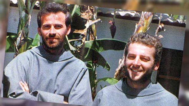 Franciscans Michał Tomaszek (left) and Zbigniew Strzałkowski (R). Photo: franciszkanie.pl