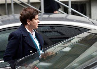 Премьер прибыла в прокуратуру Кракова для дачи показаний по делу о ДТП