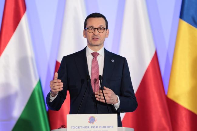 Прем'єр-міністр Польщі Матеуш Моравєцький, 1 травня 2019 року