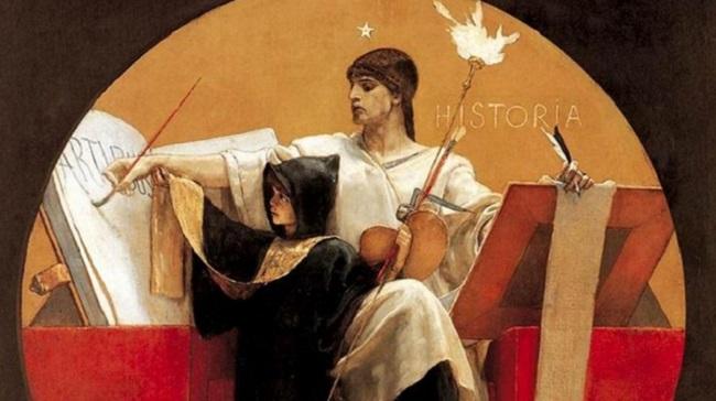 Ніколаос Гізіс. Алегорія Історії (1892)
